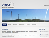 Direct Wind Services, Website