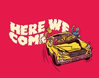 Concept poster for Comicon