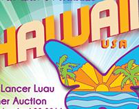Lancer Luau Logo Design