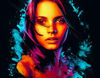beautiful angelsetfree / digital art