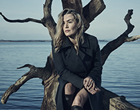 Kate Winslet & Francis Lee by Jason Bell - Ammonite