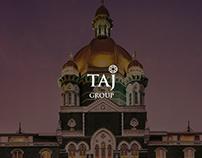 Taj Hotels Website