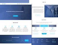 Web Hosting Landing Page Design