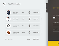 Shopping Cart UI