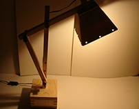 Wood lamp project