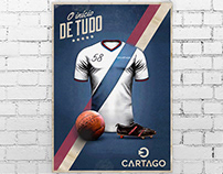 Cartago Soccer Club POP material
