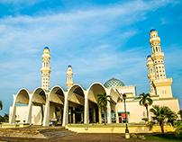 City Mosque of Kota Kinabalu, Sabah, Malaysia