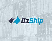OzShip – Australian Shipping and Logistics Logo