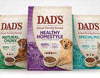 Dad's Pet Food Packaging