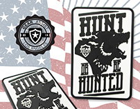 Illustrated Military PVC Morale Patches