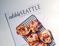 Edible Seattle Feature Illustrations