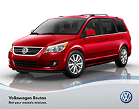 Routan Ad | Volkswagen