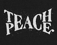 Teach Peace: t-shirt for CottonBureau