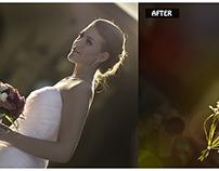 Wedding photo retouching service
