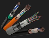 """Визуализация кабелей для сайта компании """"Белтелекабель"""""""