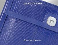 Longchamp Web Ads