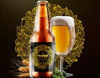 "Etiqueta para nueva cerveza artesanal ""MICALO"""