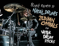 Natal Drums/Zildjan Cymbals endorsement promo