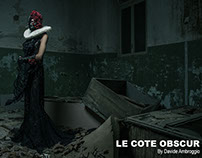 """LE COTE OBSCUR"" for OOB Magazine"