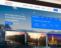 Indochina Travel website template (work in process)