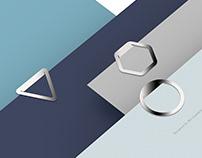 Geometric Bookmark