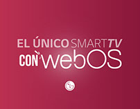 LG - El único smarttv con weBOS