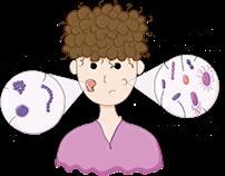 Infecções cutâneas precoces e tardias