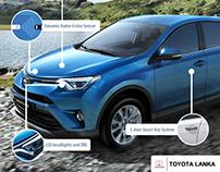 Toyota Lanka - Social Media Posts