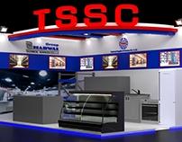 TSSC Materials Handling & Gulf Host Stands WTC Dubai