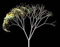 Digital Forest - Media Pillars