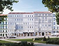 Apartments houses. JAKUB ŽOHA, PSN, EDIT! ARCHITECTS.