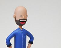 'Hanson' Character Model