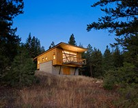 Pine Forest Cabin by Balance Associates
