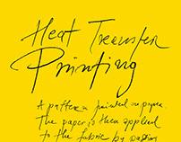 Textile Heat Transfer Printing, 2014