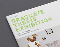 CSULA Graduate Thesis Exhibition 2012-2013 Catalog