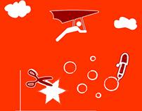 12 - Illustrations for a designer Website