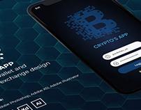UI/UX Design Crypto's App