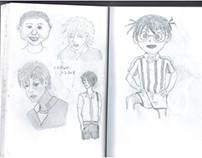 Manga boys.