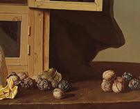 """Still-life with walnuts"""