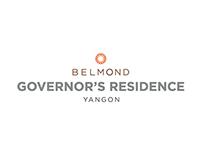 Belmond Governor's Residence Menu Design