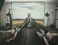 3d zombie Monopulation Poster