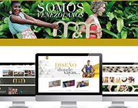 Desarrollo de imagen de marca y diseño web para M&M