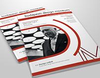 Magazine for Design Museum of Budapest / 2017