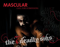 MASCULAR Magazine Call for Submissions The 7 Deadly Sin