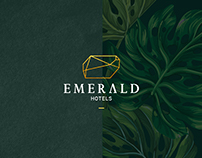 EMERALD HOTELS Logo Design