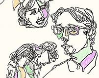 Contour Sketches