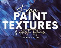 8 Free Artistic Paint Textures