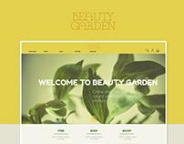 Beauty Garden website
