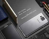 Samsung Galaxy Alpha. Just Alpha