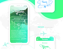 Trippers | Mobile App's conception UX/UI